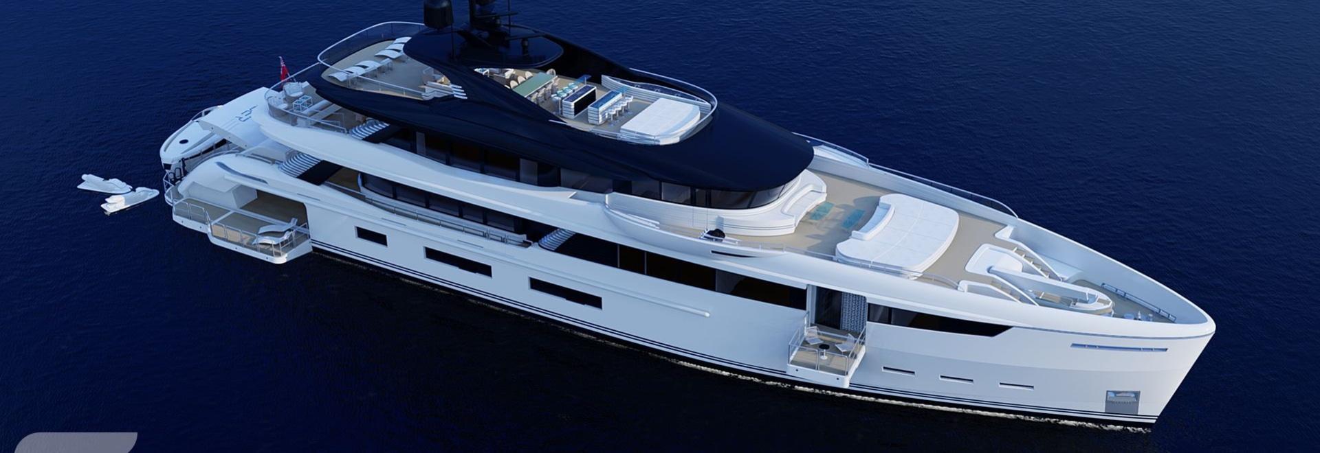 Construction starts on 54m Wider 180 superyacht