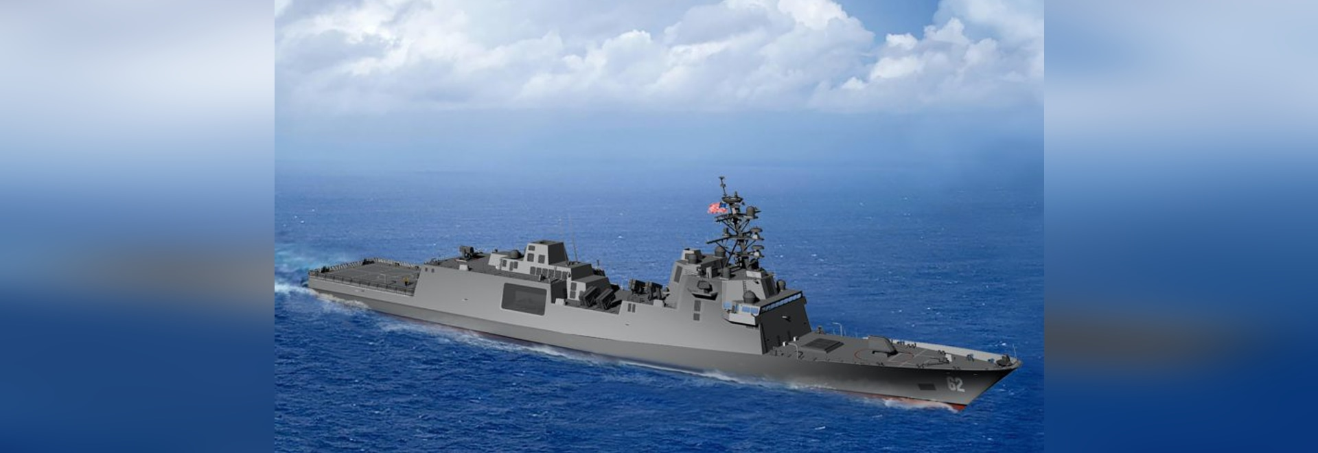 The contract offers FMM the option to build and deliver up to 10 guided missile frigates fro the Navy.
