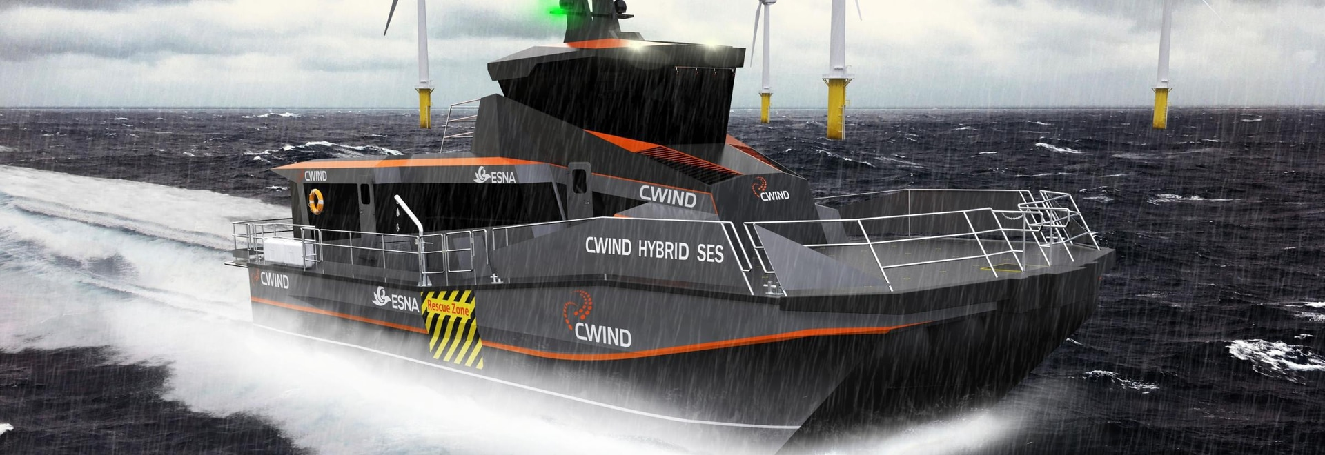 Corvus Energy will supply its Dolphin energy storage system to SEC Marine Ltd for the hybrid SES. Image: Corvus Energy