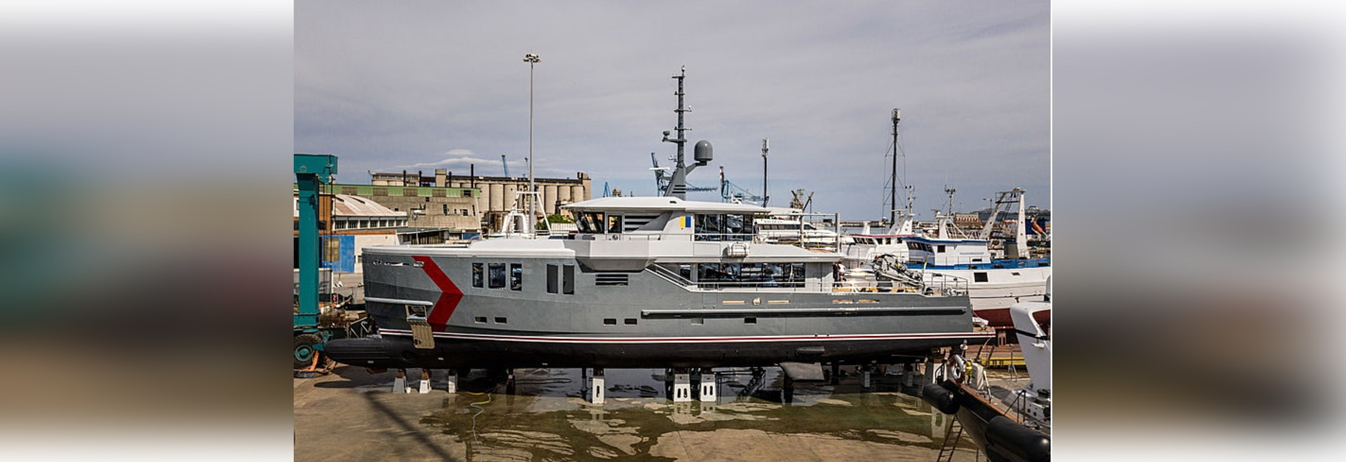 CPN launches 37m explorer yacht K-584 in Ancona