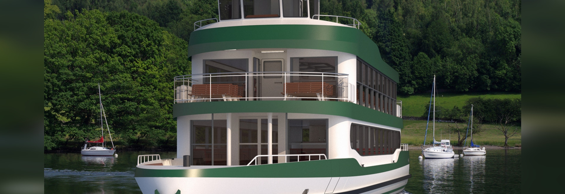 DAMEN CUTS STEEL FOR NEW DAY CRUISE VESSEL FOR WINDERMERE