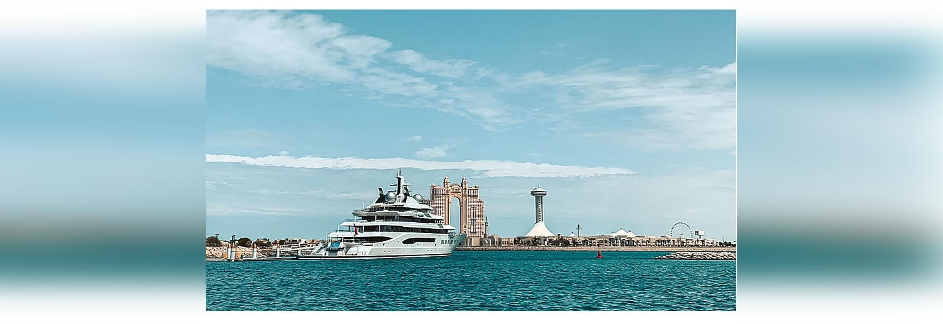 A day on board the 106m superyacht Amadea in Abu Dhabi