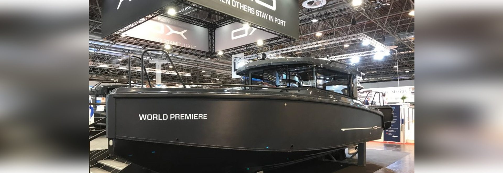 Deep-vee aluminium hull delivers strong performance in a robust, all-weather package