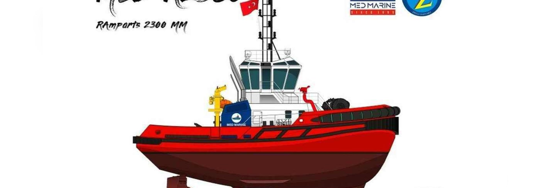 Design for a new tug Med Marine will deliver to Abu Dhabi Ports in November