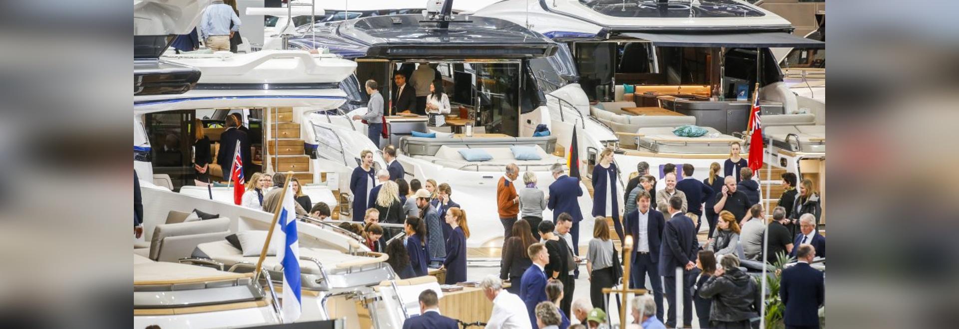 The Düsseldorf boat show runs Jan. 18-26.