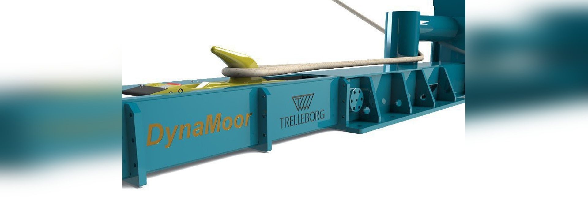 DynaMoor maintains constant tension in mooring lines to dampen vessel movements. Image: Trelleborg