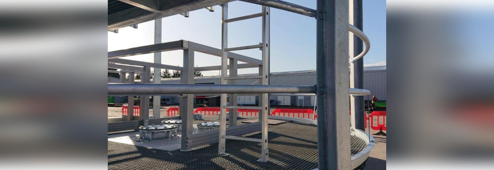 Each SIP weighs ten tonnes Photo: Hutchinson Engineering Ltd
