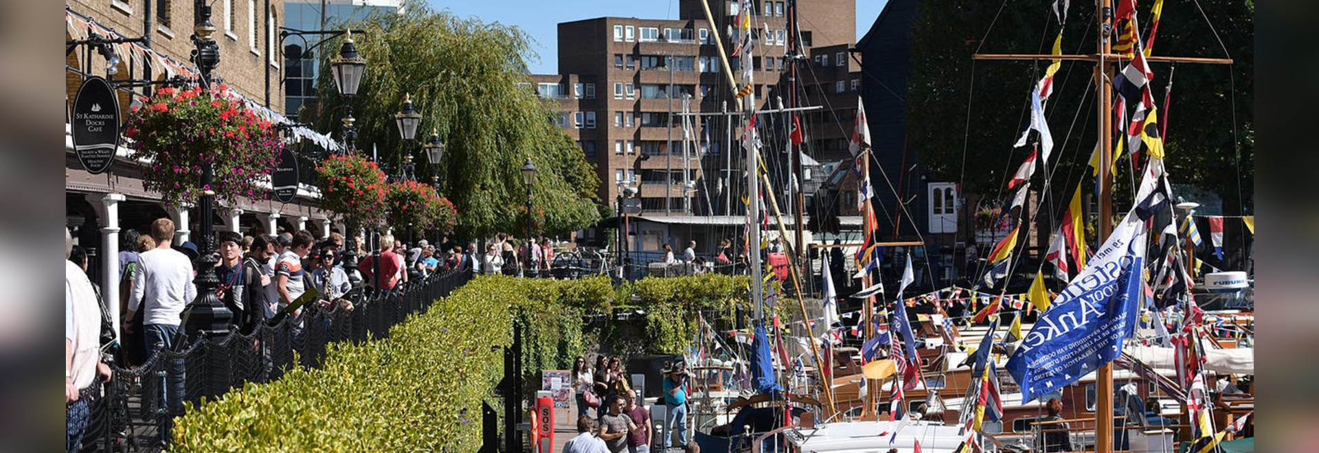 The event will take place at St Katharine Docks in London