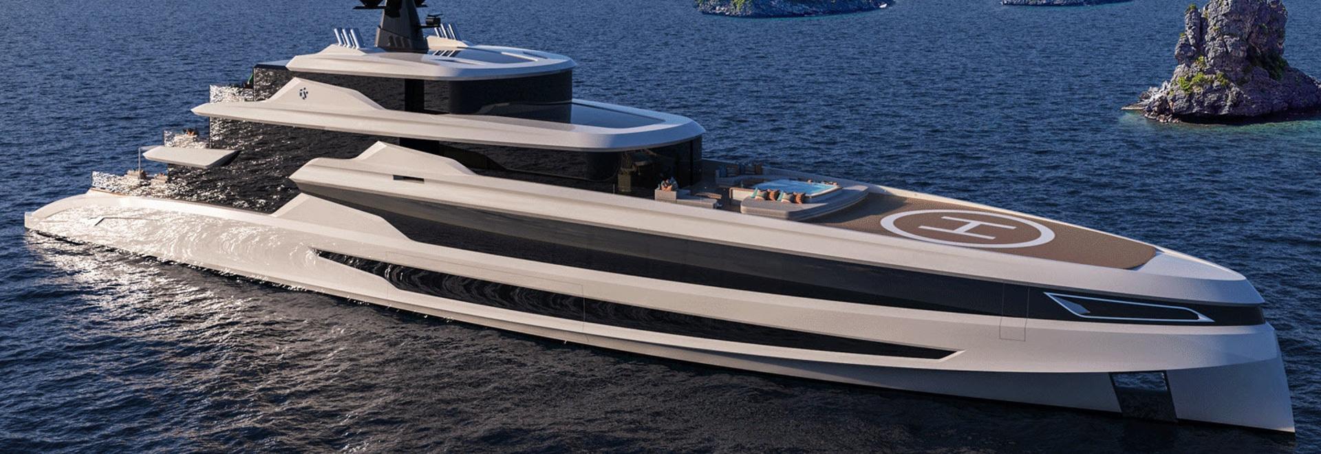 Fincantieri Yachts Reveals 70 Metre Superyacht Concept Blanche