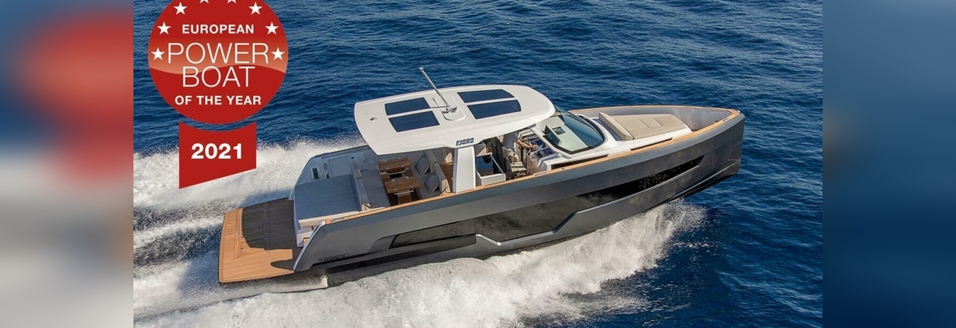 """FJORD 41 XL AWARDED """"EUROPEAN POWERBOAT OF THE YEAR 2021"""