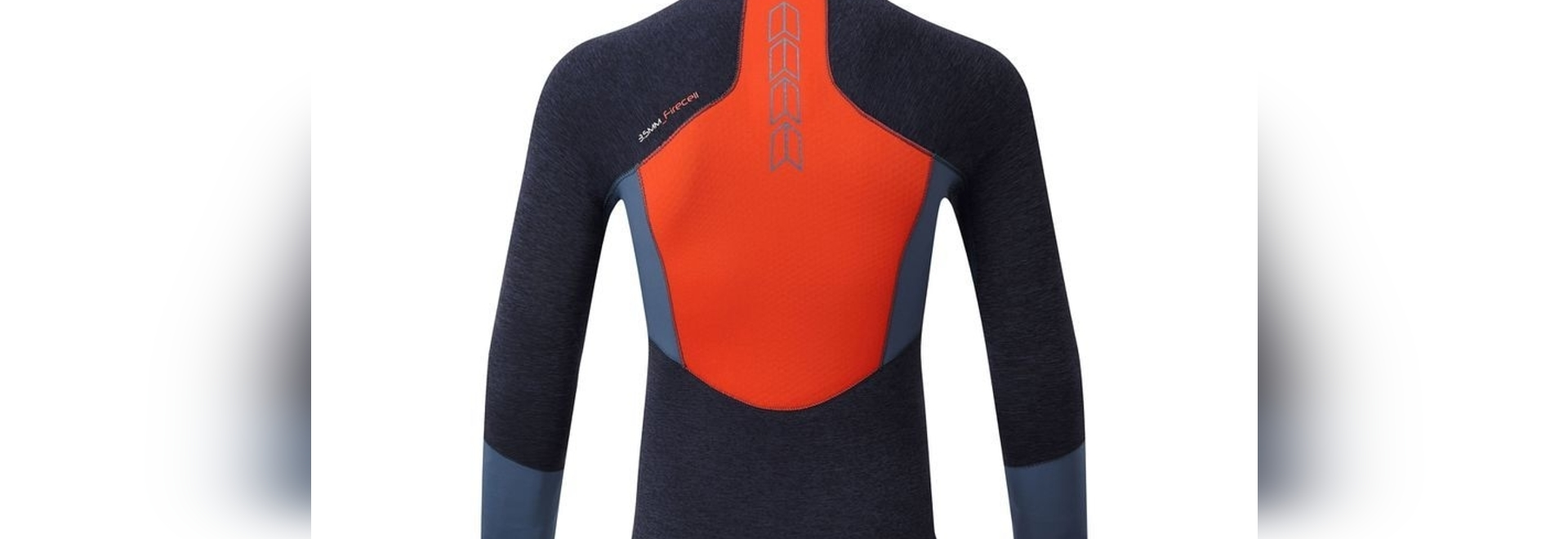 Gill's FireCell wetsuit Race Top is loaded with great features, aside from the heat-retaining property of the core panels. The design and materials provide outstanding mobility and warmth.