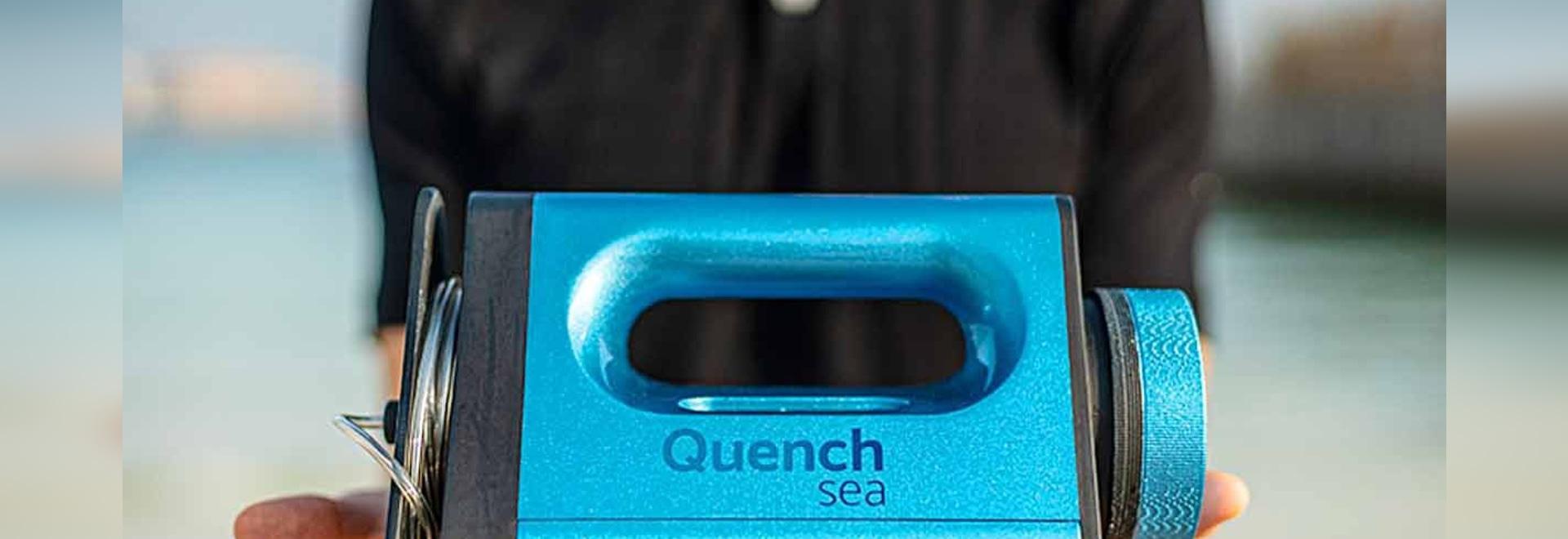 Handheld Desalinator to Go into Production