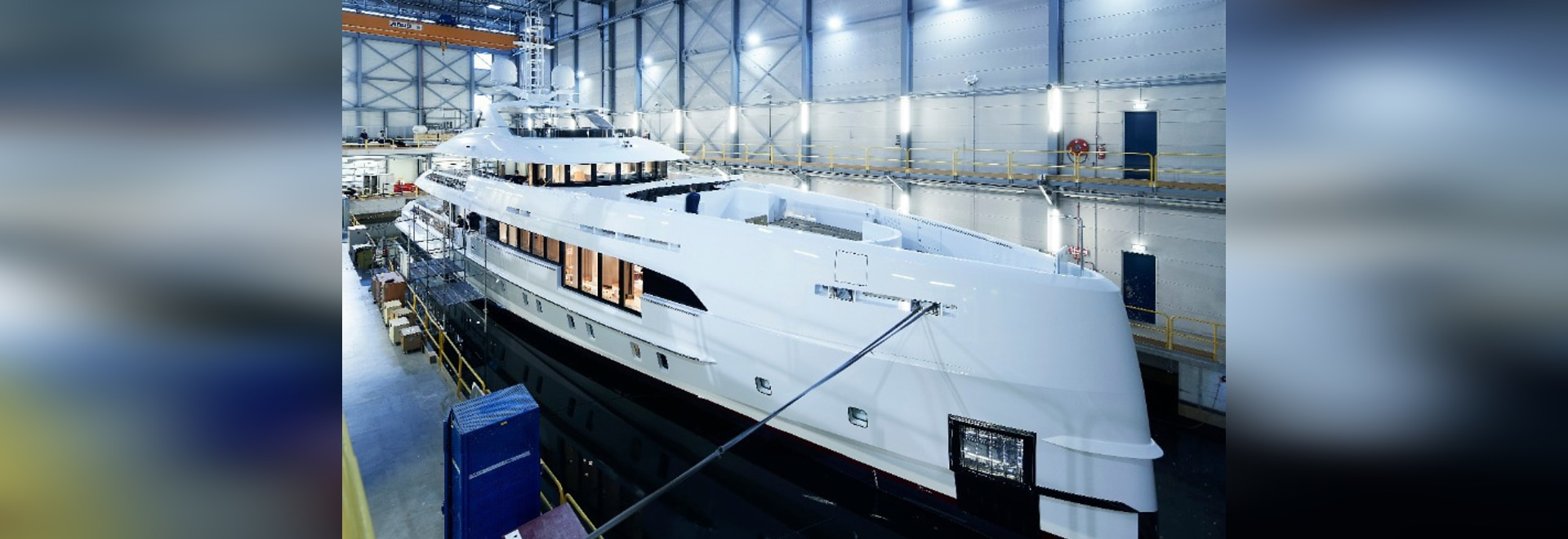 Heesen launches second hybrid yacht