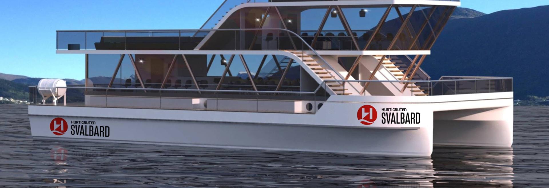 Hurtigruten to build all-electric explorer catamarans