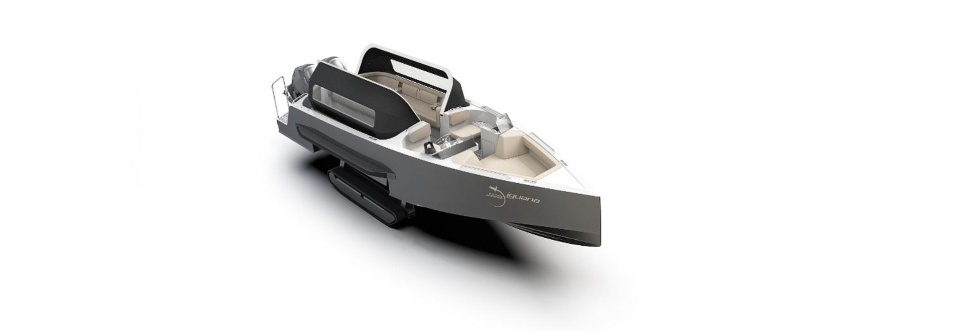 Iguana Yachts launches amphibious day limo