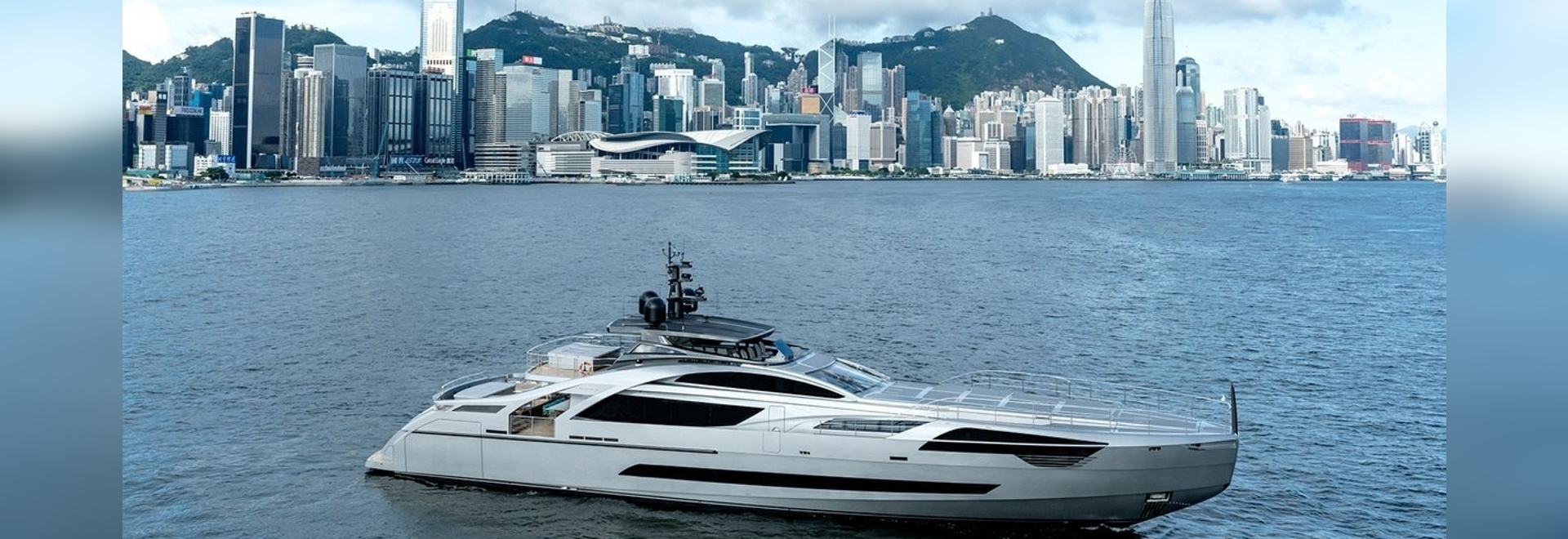 Insights into Pershing's first all-aluminium superyacht