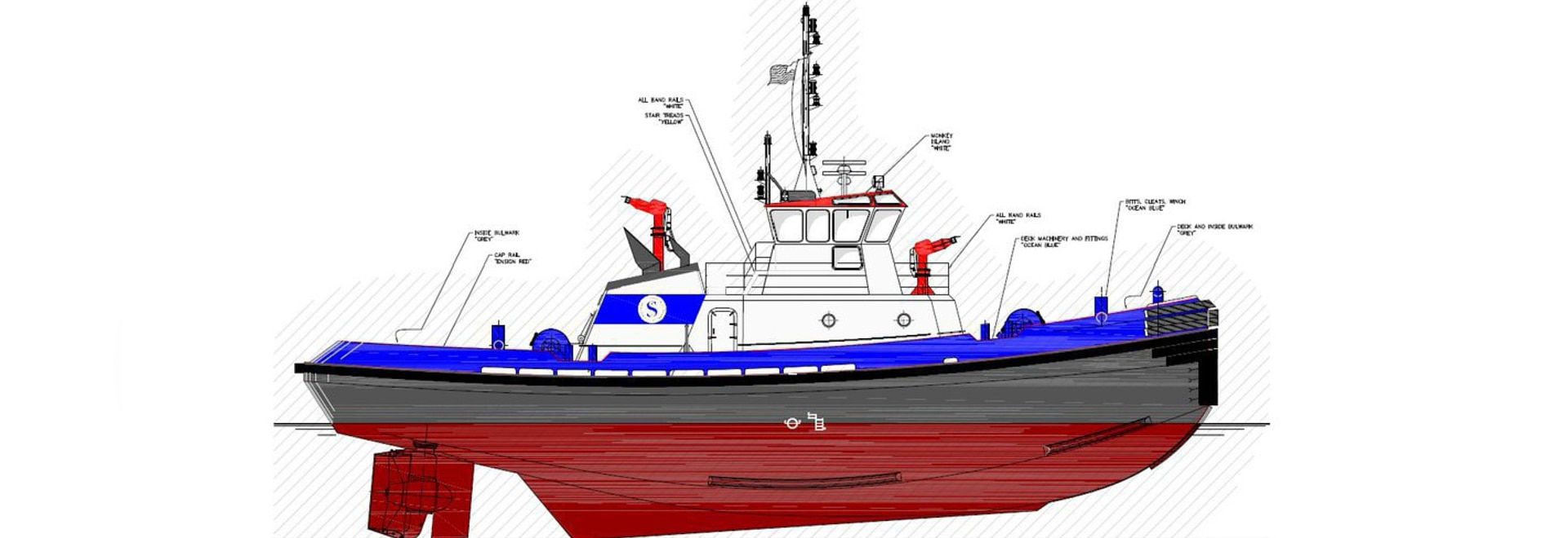 The integrated bridge systems will feature on two upgraded ART 90-98US tugs, and two new Rapport 3000.