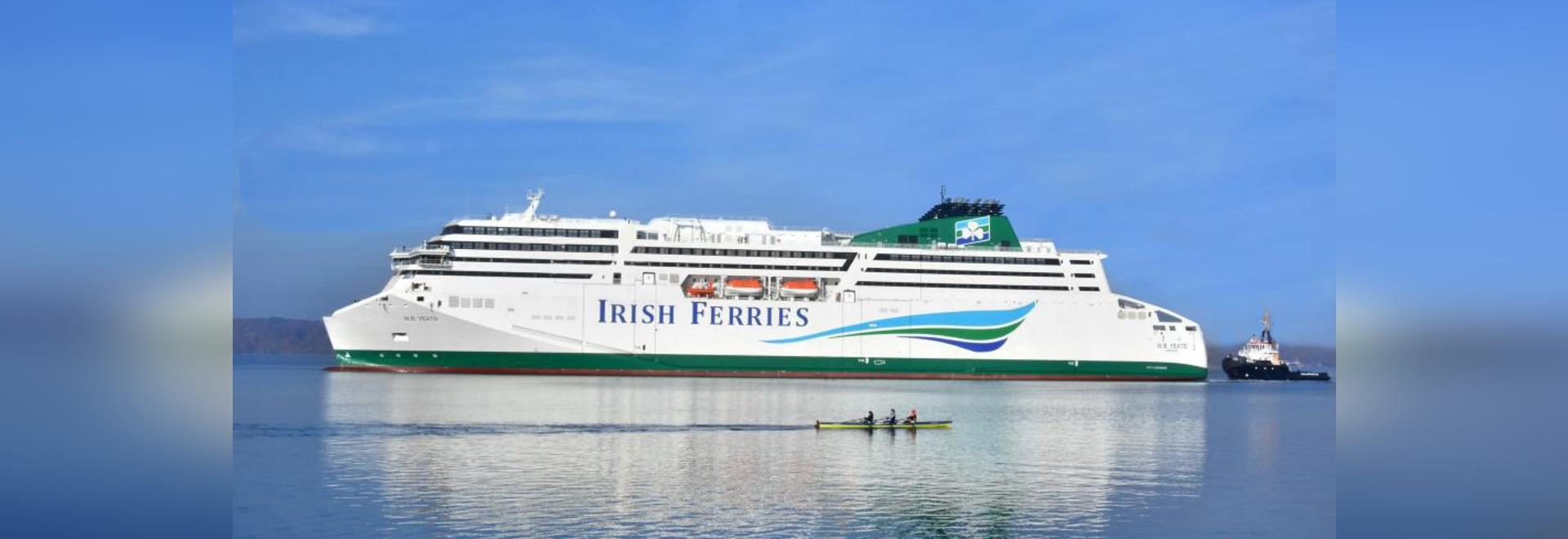 Irish Ferries Starts Legal Process to Challenge NTA Decision