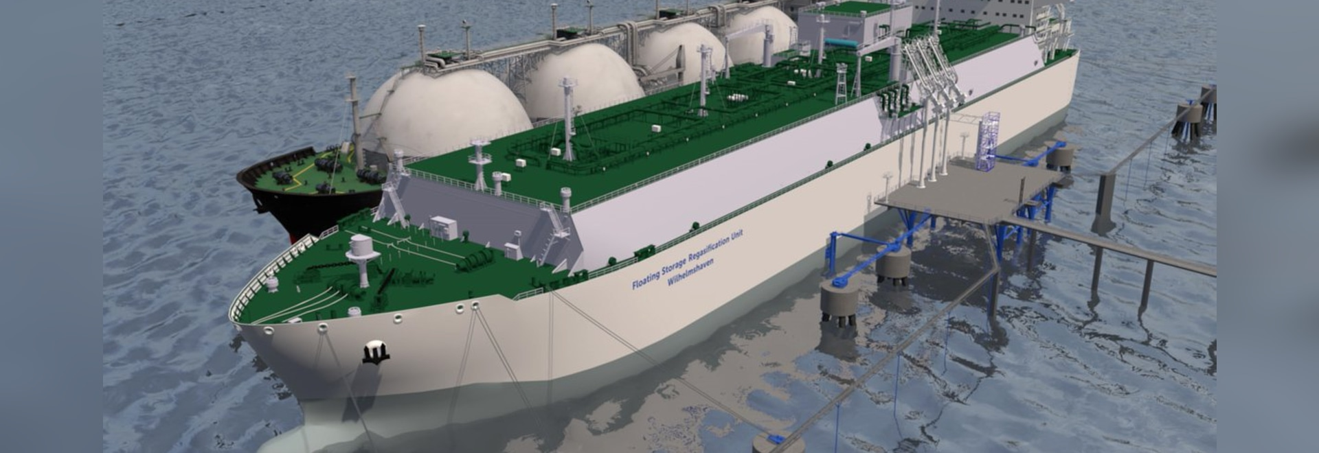 japanese shipowner Mitsui O.S.K Line (MOL) will own, finance and operate the FSRU