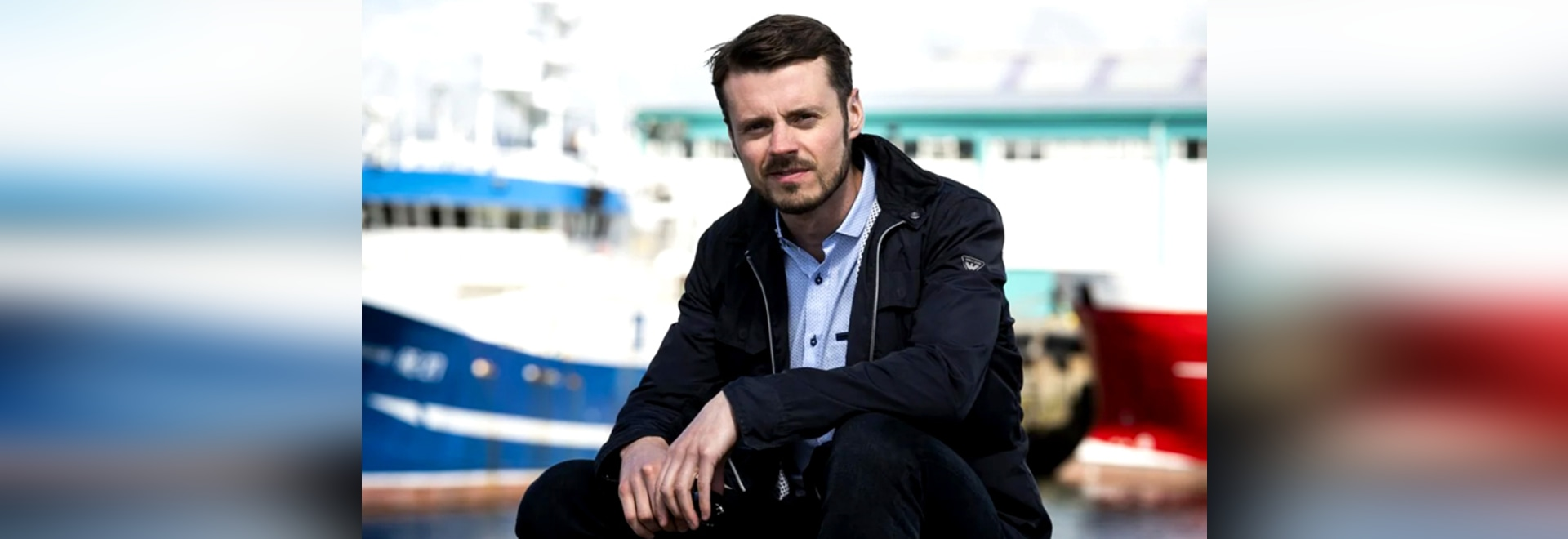 """Karl Birgir, CEO """"We hope to be able to develop technology that will make self-managed boats even smarter."""""""