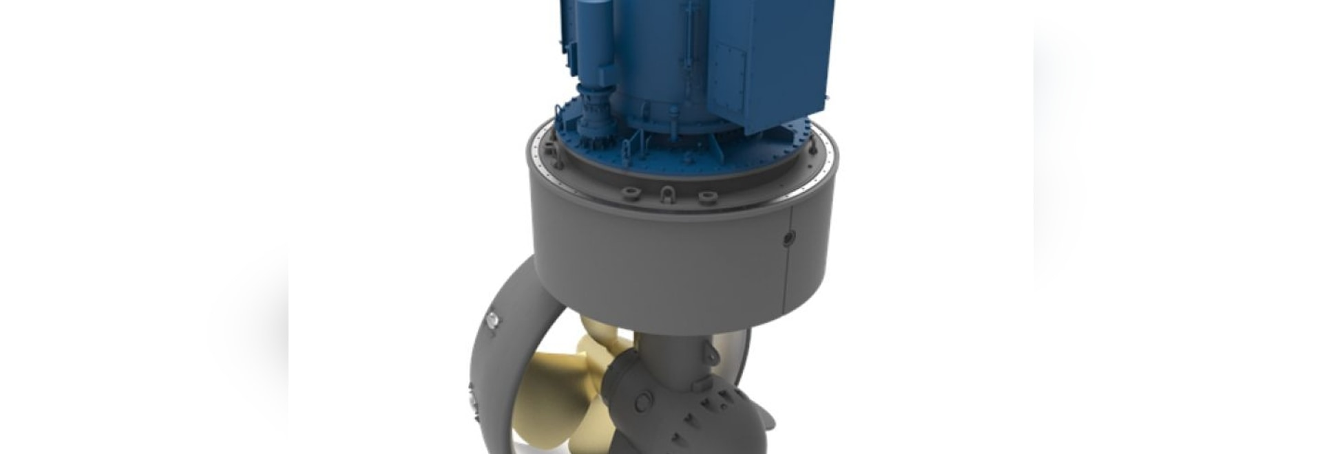 Kongsberg's US255 thrusters will power the world's first fully electric shiphandling tug