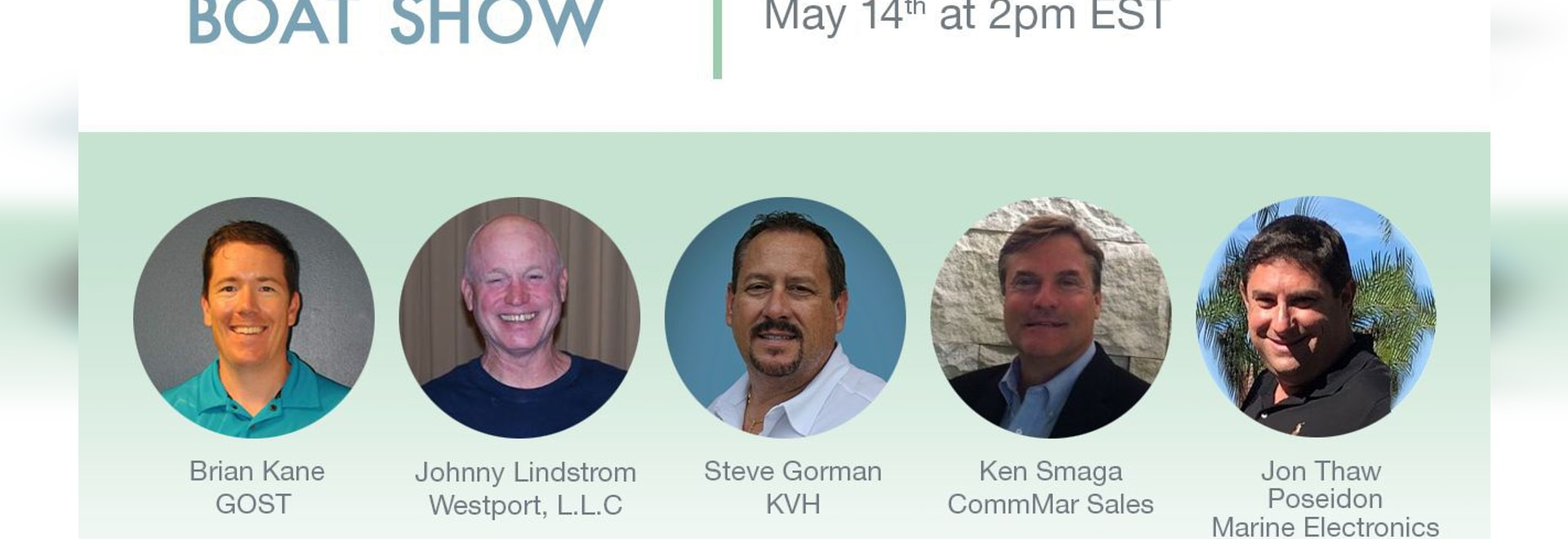 Learn About Internet and TV for Boats & Yachts at KVH Educational Seminars 5/14 and 5/20