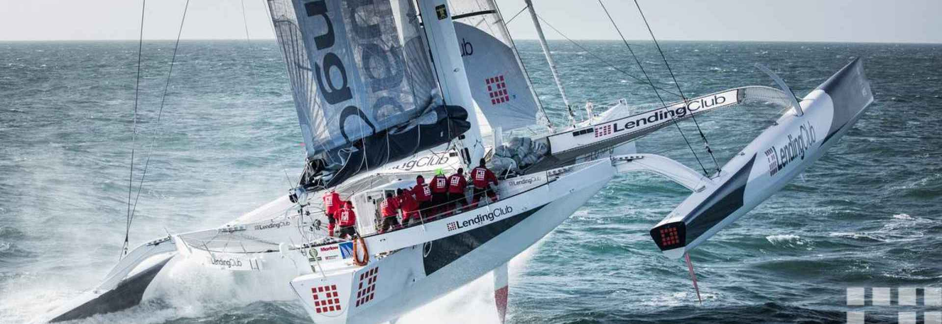 Lending Club 2 prepares for the Newport to Bermuda record attempt.
