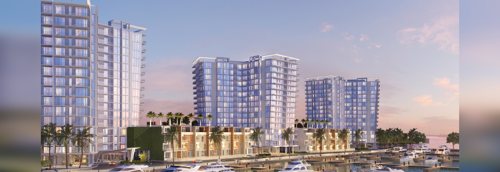 The marina is part of the Westshore Marina District. Courtesy of BTI Partners.