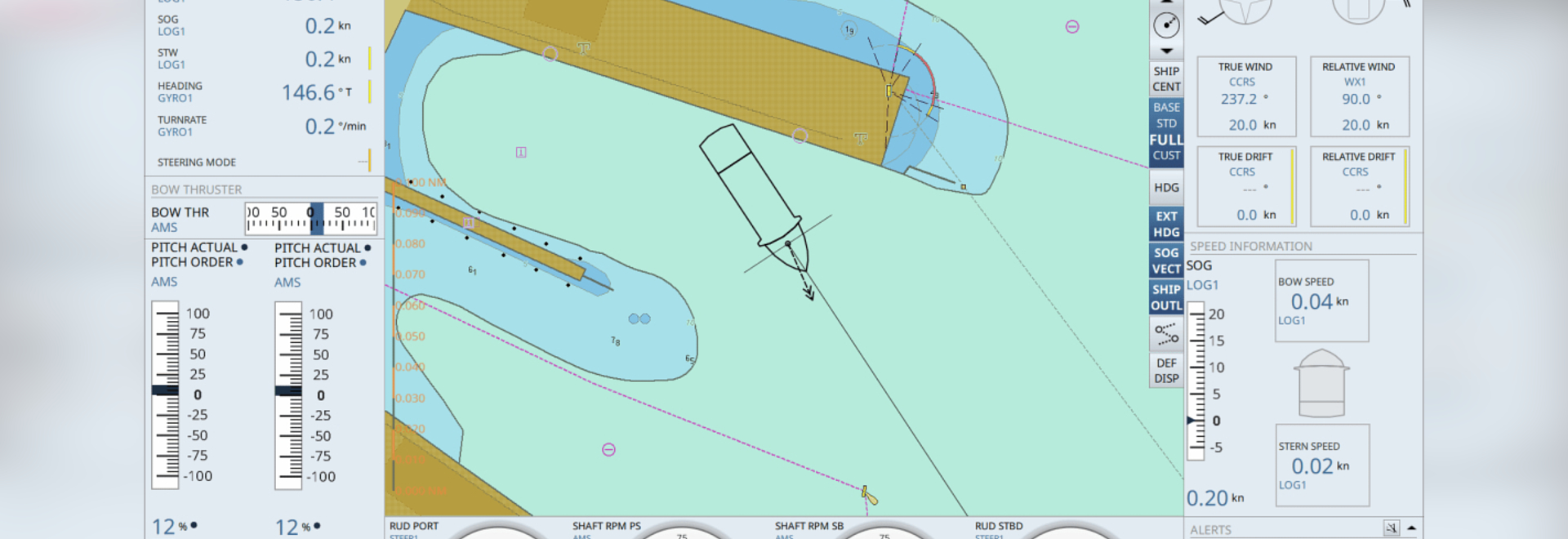 Marine Electronics: New Display Aims to Simplify Ship Docking