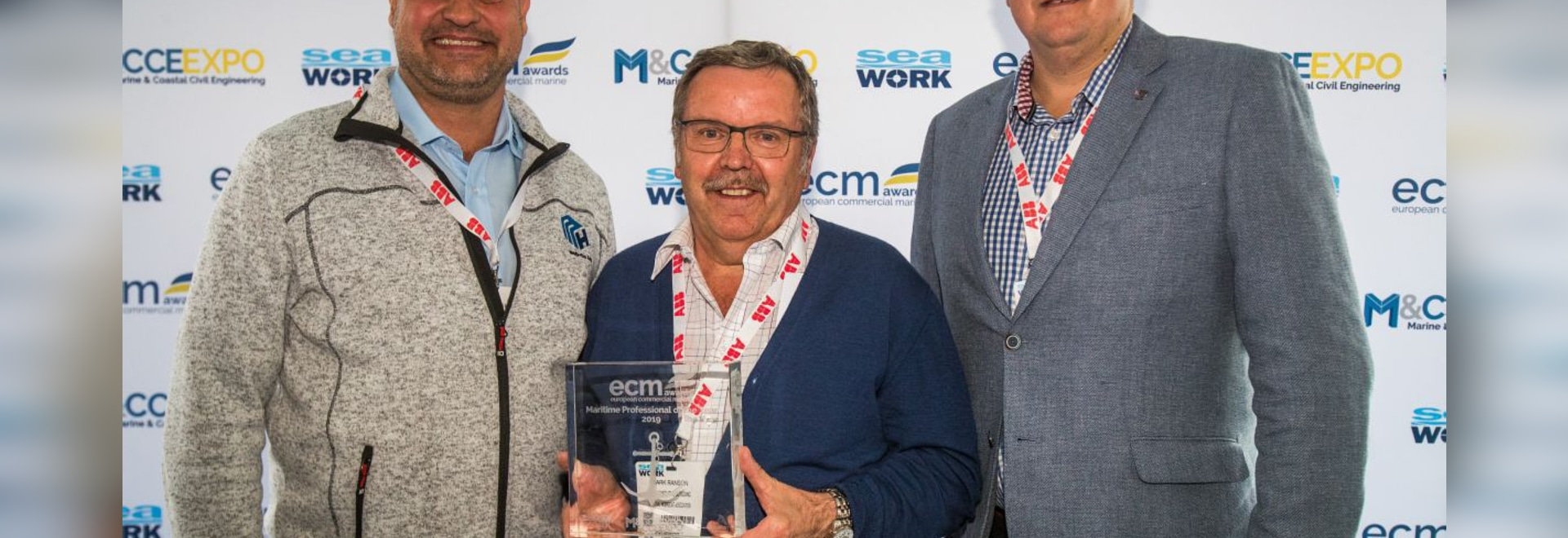 Maritime Professional of the Year Award winner Mark Ranson - National Workboat Association