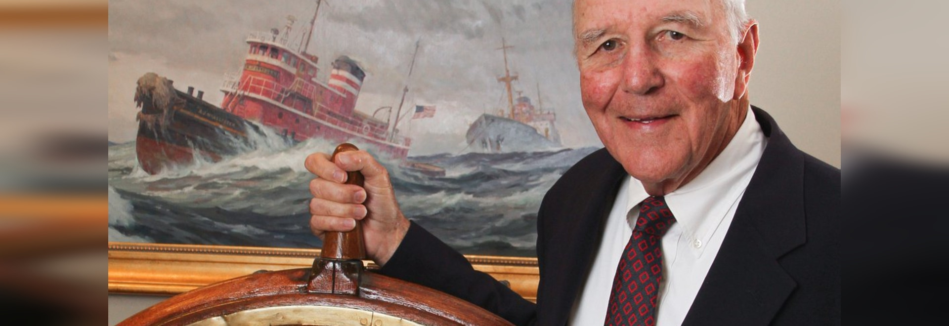 McAllister Towing chairman Capt. Brian A. McAllister. Photo courtesy SUNY Maritime College.