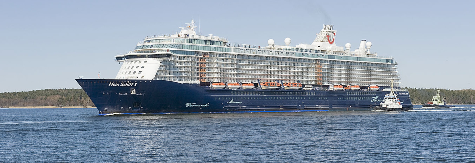 Meyer Turku Oy Celebrated the Float Out of Cruise Ship Mein Schiff 4