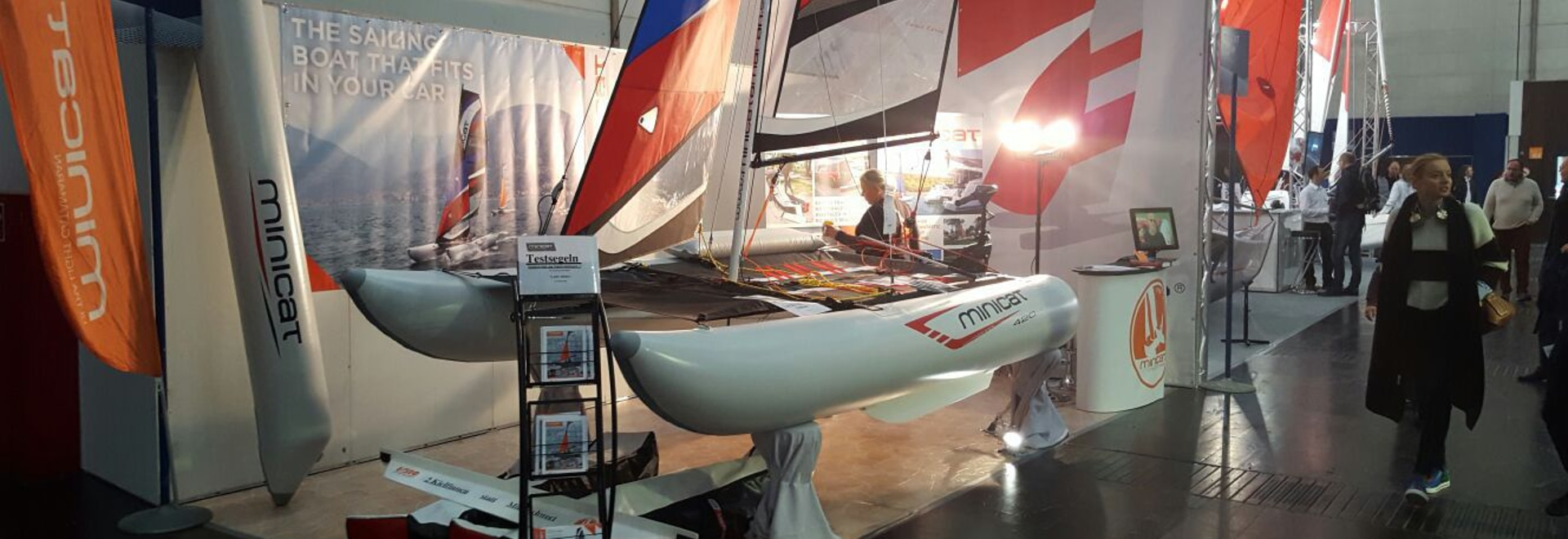 Minicat at the Dusseldorf boat show BOOT 2017