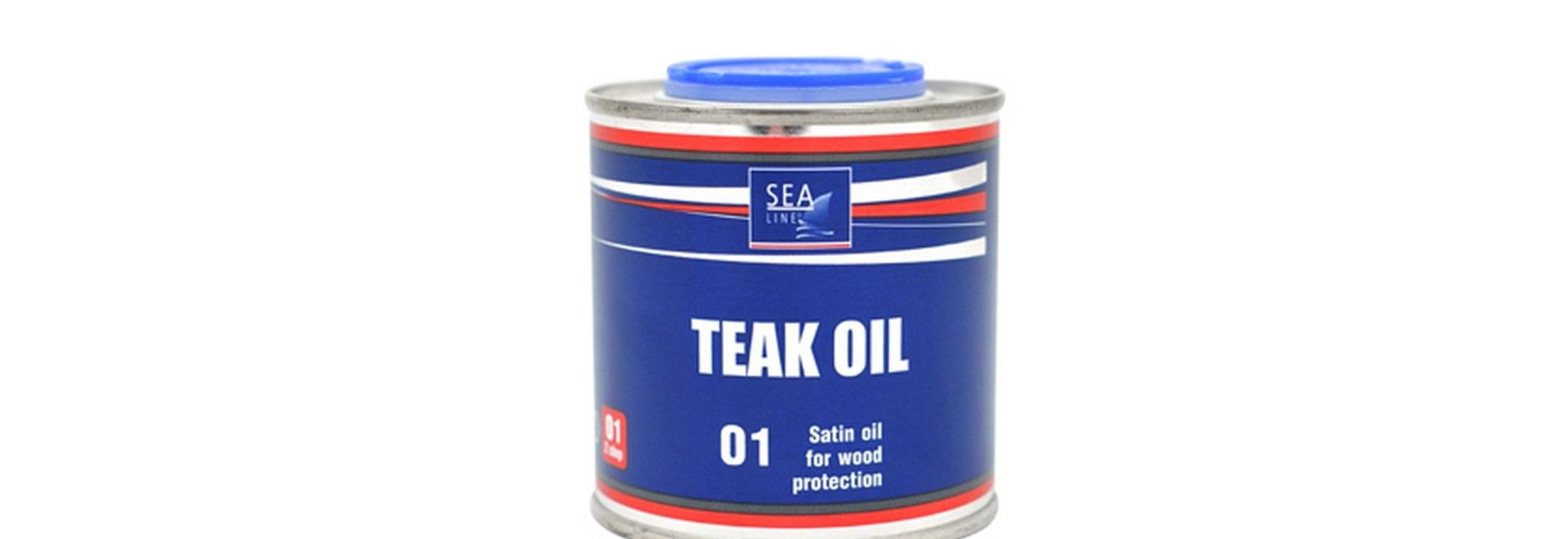 NEW 2017 - TEAK OIL SEA-LINE