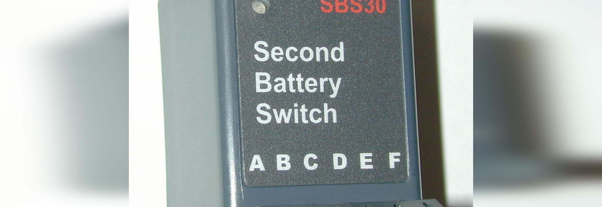 NEW: automatic battery switch by Cruzpro