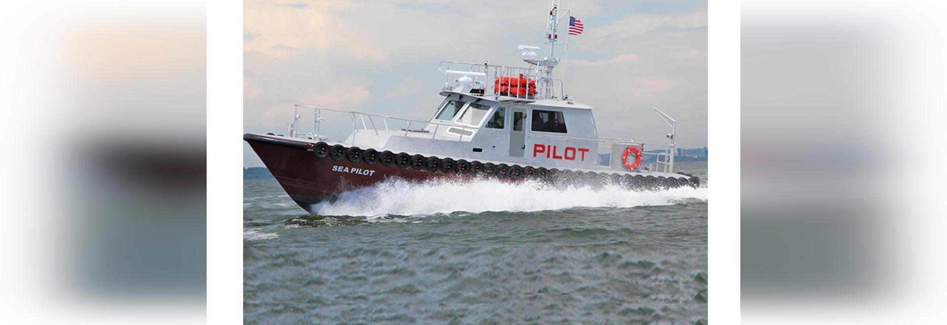 New boat is the sixth St. John's Class launch built for the Delta pilots by Somerset, Mass. shipyard.