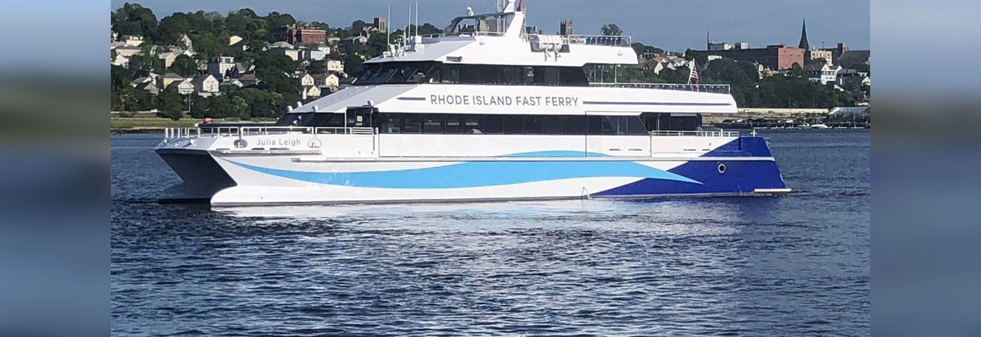 New fast ferry for Rhode Island. Gladding-Hearn photo