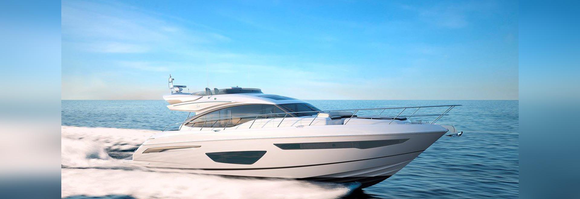 NEW: flybridge motor-yacht by Princess