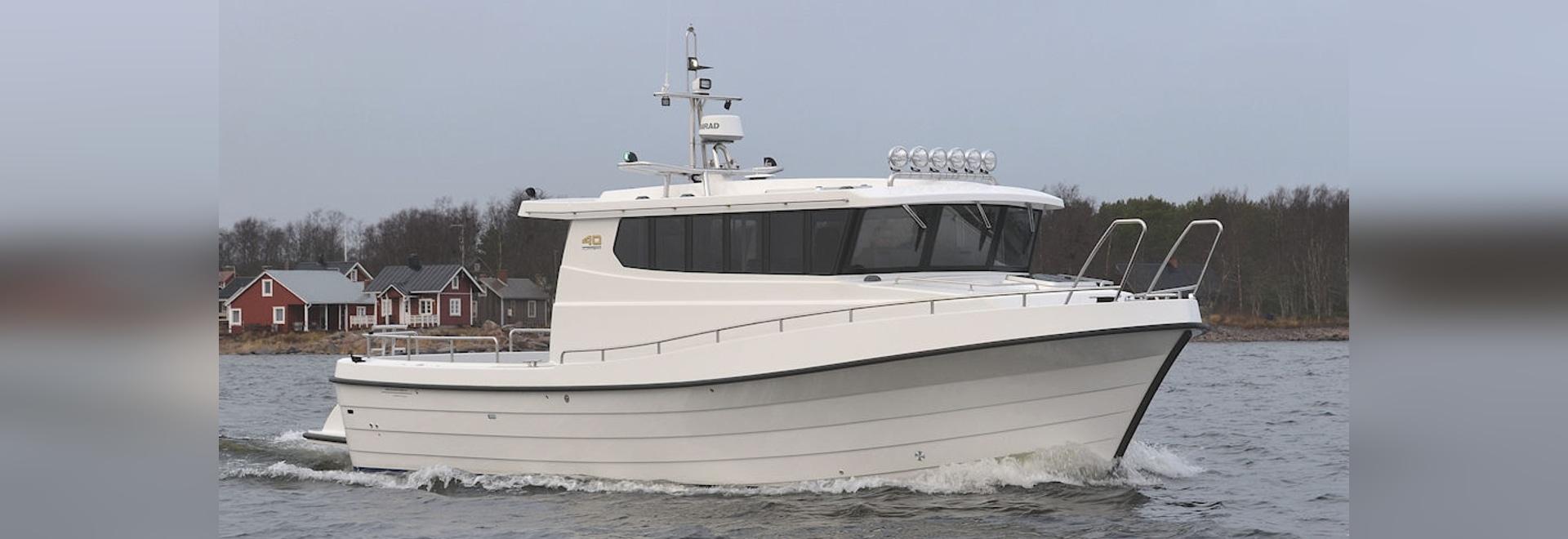 NEW: inboard multi-purpose work boat by Kulkuri-Veneet Oy