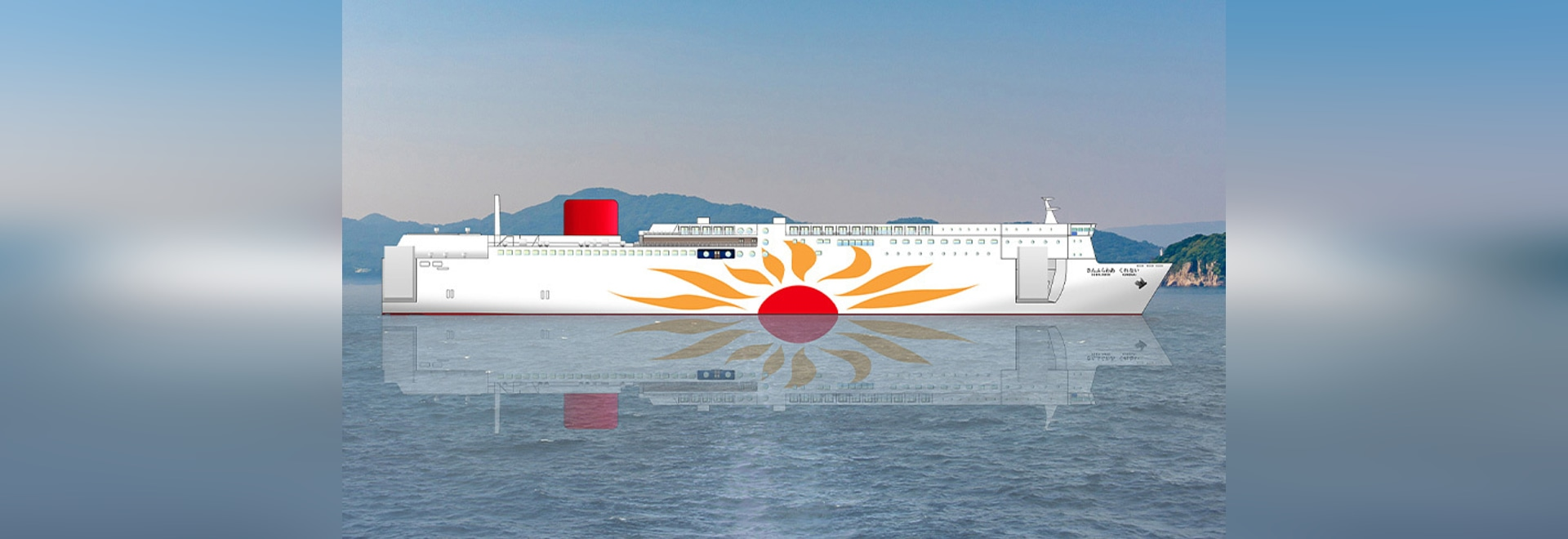 The new MOL ferries will operate with the Wärtsilä 31DF engine running on LNG fuel. Wärtsilä will also supply the gearbox and the LNGPac, fuel storage, supply and control system.
