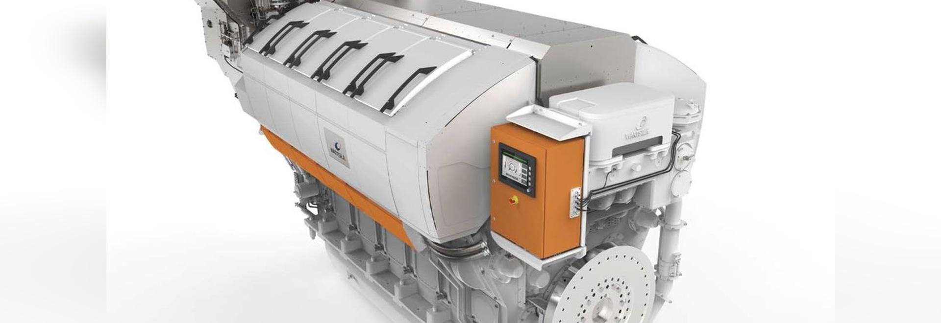 NEW: ship engine by Wärtsilä Corporation