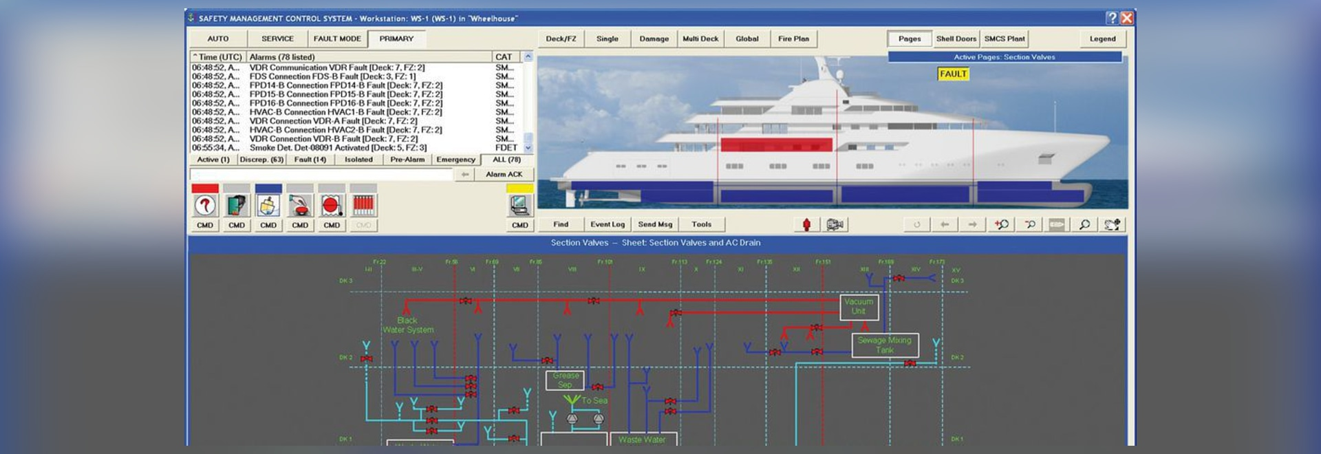 NEW: ship software by SAM Electronics