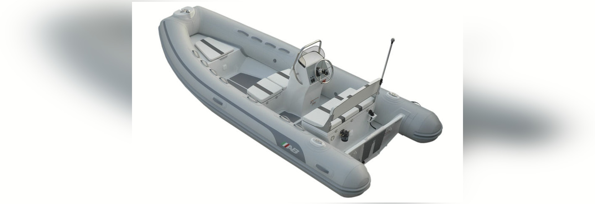 NEW: side console inflatable boat by AB Inflatables