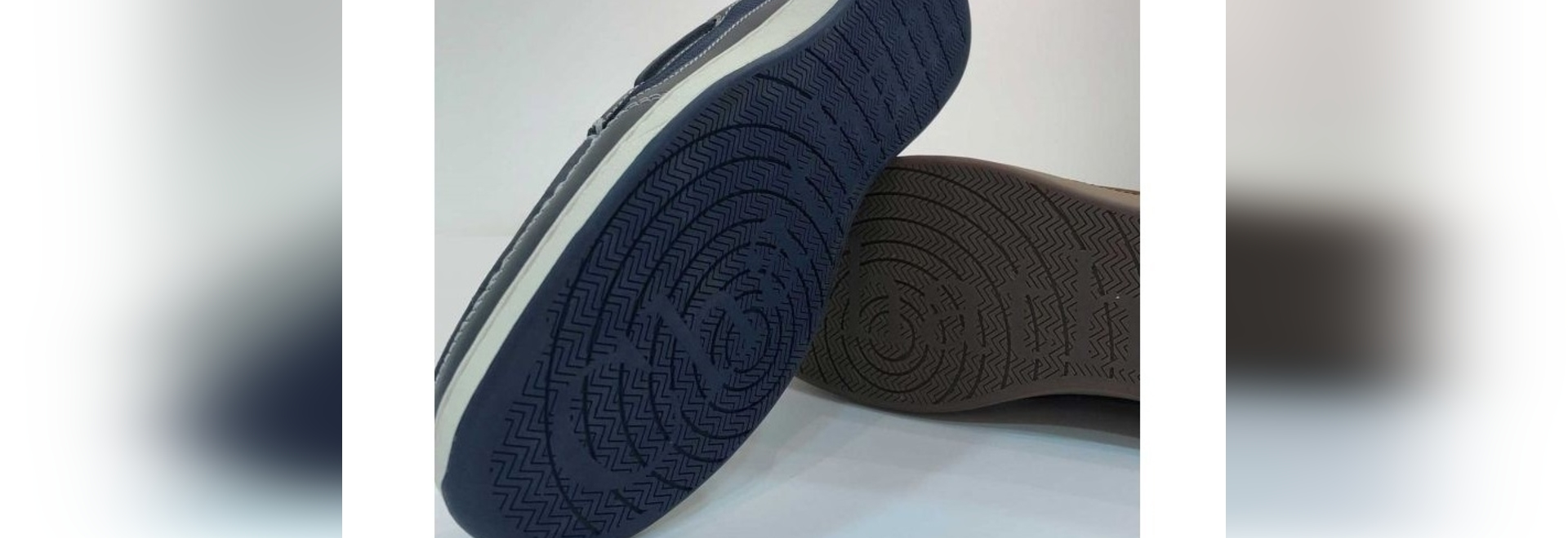 The new sole on Chatham's Buton G2 boat shoe