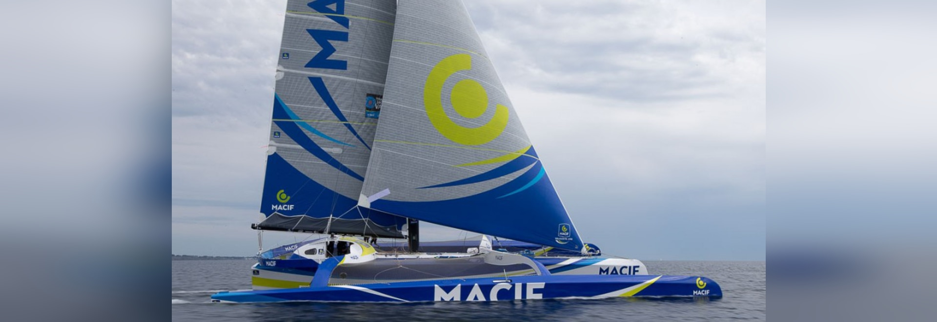 New solo 24hr record of 771 miles set by François Gabart in trimaran MACIF