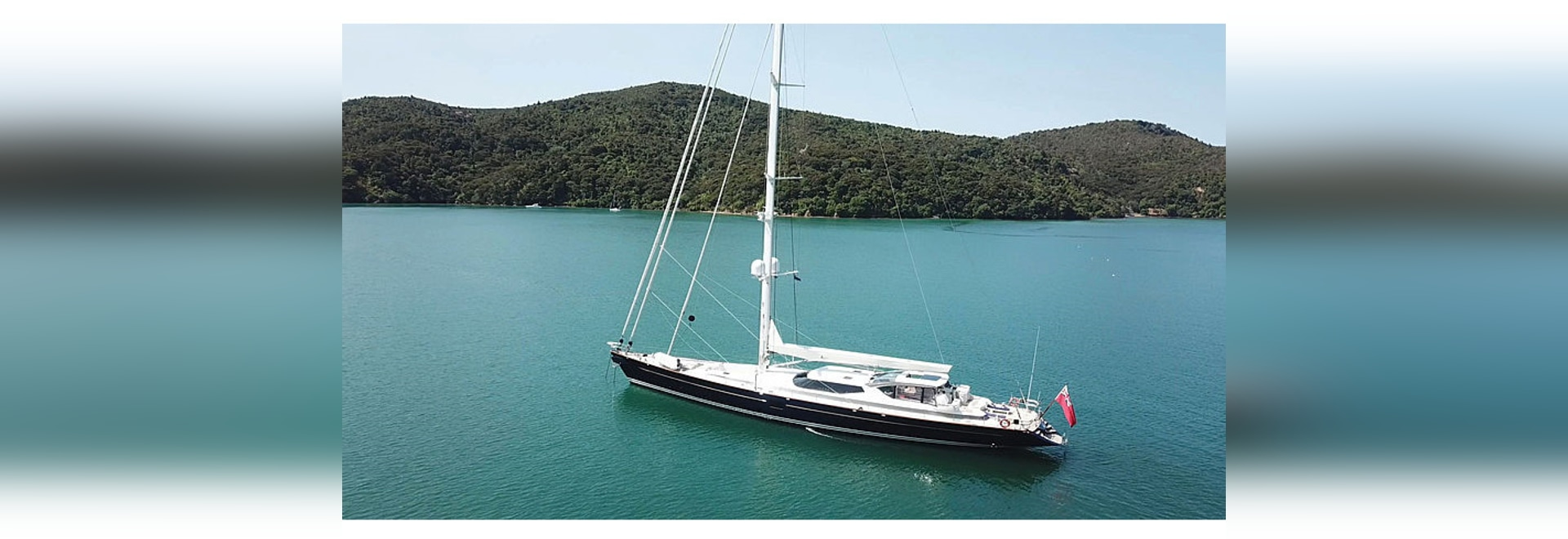 New to Market: 43m Vitters sailing yacht Koo