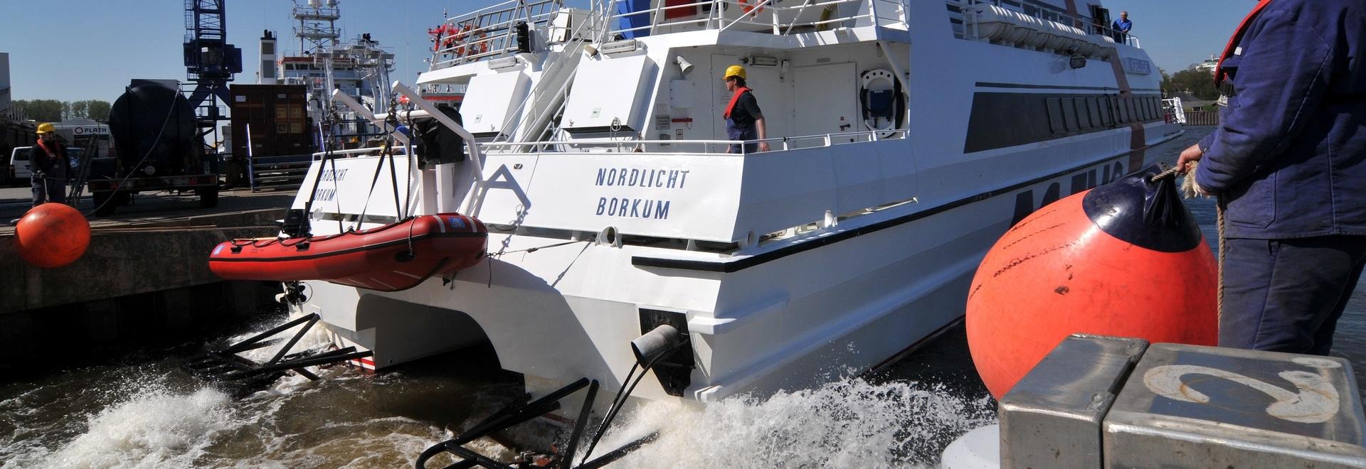 Nordlicht gets new waterjets