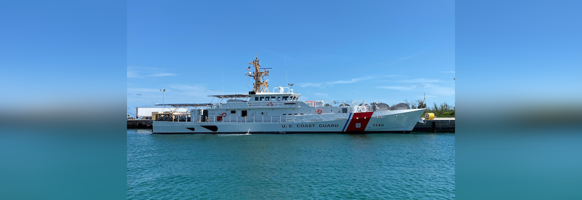 The Oliver Henry is the second of three FRCs to be homeported in Apra Harbor, Guam, increasing the presence for the U.S. Coast Guard in the Indo-Pacific Theater.