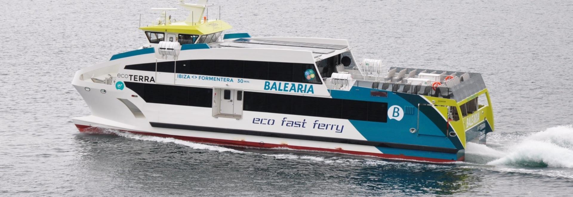 One of Gondan's latest Eco Fast Ferries
