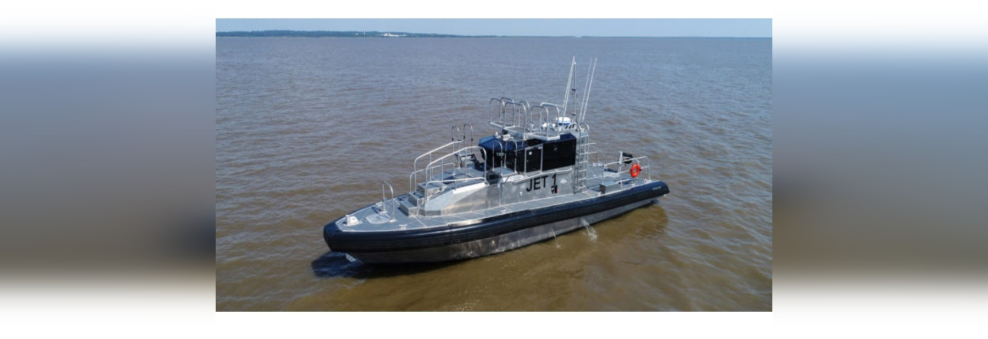 One of two new pilot boats that operate in the Mississippi River at New Orleans. Metal Shark photo